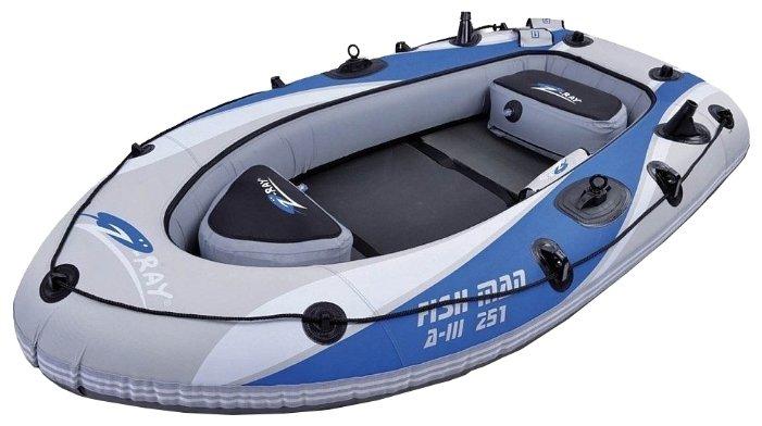 Надувная лодка Jilong Fishman Boat A-III 251 JL007235-1N