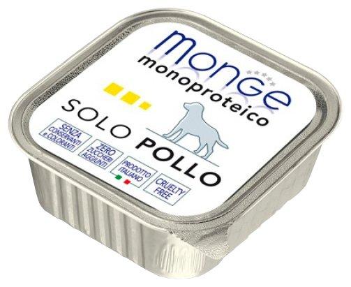Корм для собак Monge Monoprotein курица 24шт. х 150г