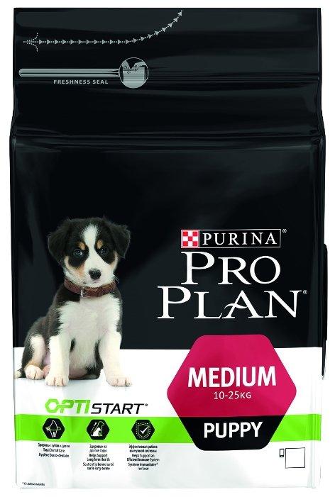 Корм для щенков Purina Pro Plan Optistart курица 800г (для средних пород)