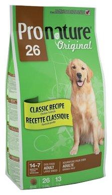 ProNature (20 кг) 26 Classic Recipe Chicken Formula для взрослых собак крупных пород