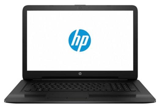 """HP 17-y004ur (AMD E2 7110 1800 MHz/17.3""""/1600x900/4.0Gb/500Gb/DVD-RW/AMD Radeon R2/Wi-Fi/Bluetooth/DOS)"""