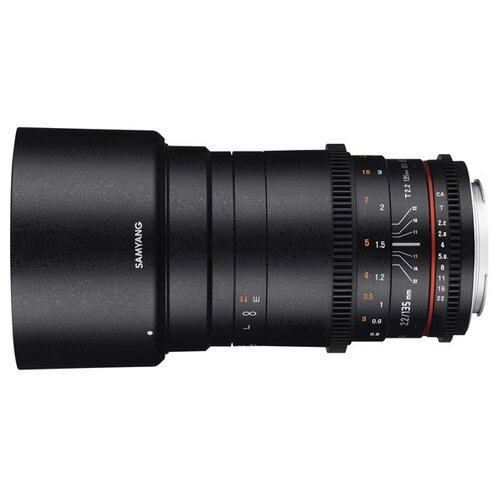 Фото - Объектив Samyang 135mm T2.2 ED UMC VDSLR Canon EF объектив samyang 24mm t1 5 ed as umc vdslr canon ef
