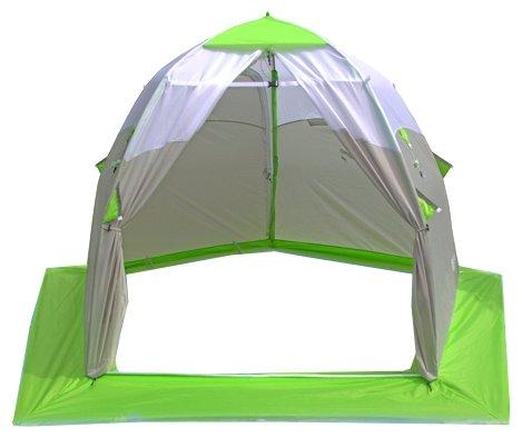 Палатка ЛОТОС 3 Универсал зеленый/серый
