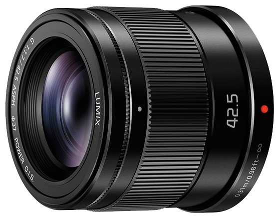 Panasonic Объектив Panasonic 42.5mm f/1.7 G Aspherical Power O.I.S. (H-HS043E)