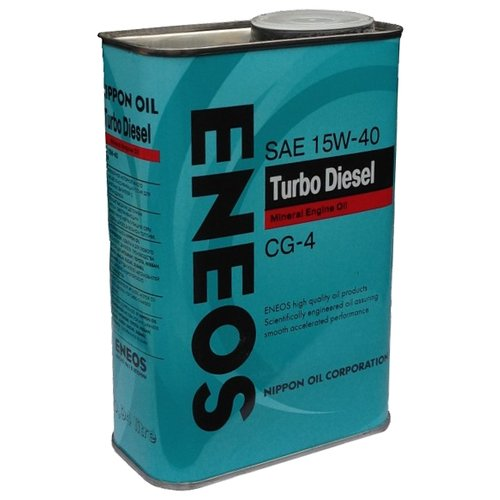 Фото - Минеральное моторное масло ENEOS Turbo Diesel CG-4 15W-40 0.94 л минеральное моторное масло mannol universal 15w 40 4 л