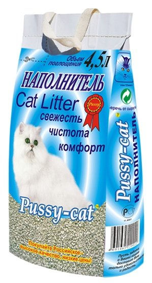 Pussy-Cat Цеолитовый (4,5 л)