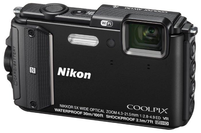 Компактный фотоаппарат Nikon Coolpix AW130