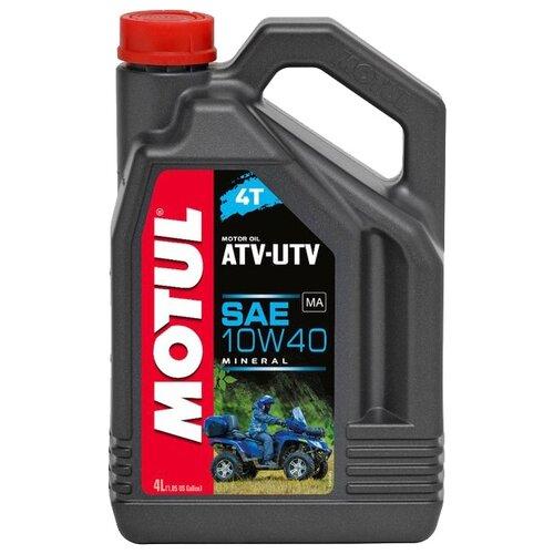 цена на Моторное масло Motul ATV-UTV 4T 10W40 4 л