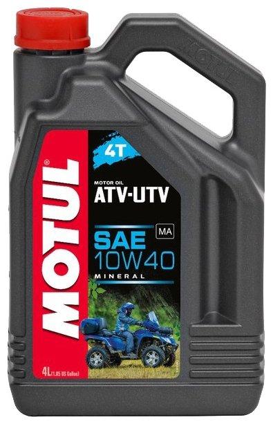 Моторное масло Motul ATV-UTV 4T 10W40 4 л