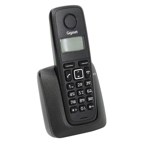 Радиотелефон Gigaset A116 черныйРадиотелефоны<br>