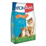 MonAmi Сухой корм для кошек Мясное ассорти (0.4 кг) 1 шт.