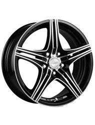 Racing Wheels H-464 7x17 5x100 ET 45 Dia 67.1 BK F/P - фото 1