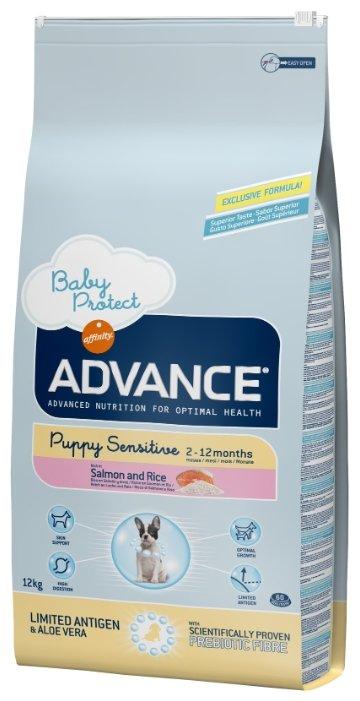 Корм для собак Advance Puppy Sensitive лосось и рис