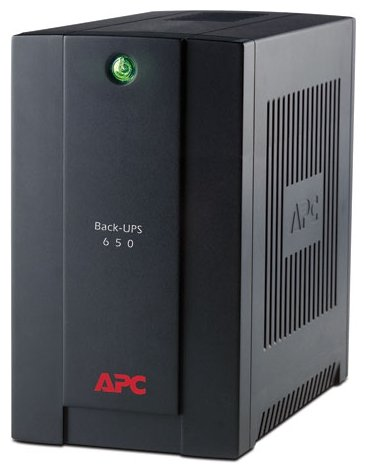 APC by Schneider Electric Back-UPS 650/390VA IEC