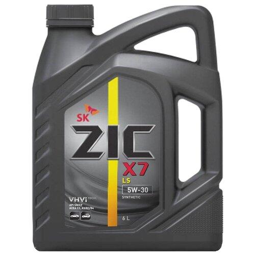 Фото - Синтетическое моторное масло ZIC X7 LS 5W-30 6 л моторное масло zic x9 ls 5w 30 4 л