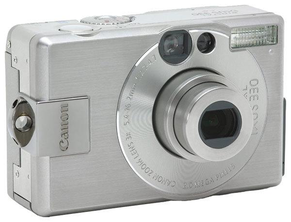 Фотоаппарат Canon Digital IXUS 330