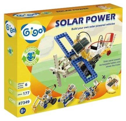 Конструктор электромеханический Gigo Энергия солнца / 7349