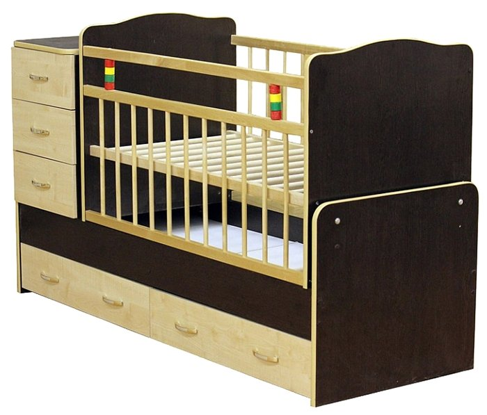 Кроватка Промтекс Колибри (трансформер)