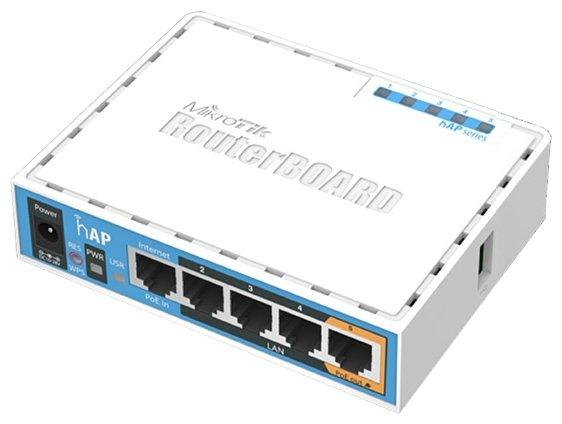 Wi-Fi роутер MikroTik hAP