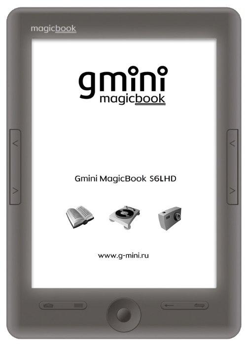 Gmini Электронная книга Gmini MagicBook S6LHD
