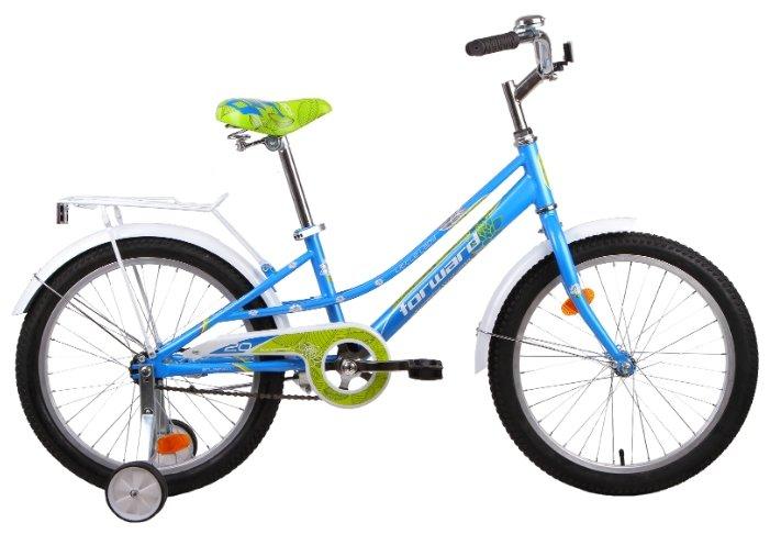 Детский велосипед FORWARD Little Lady Azure 20 (2015)