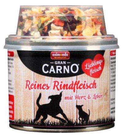 Корм для собак Animonda GranCarno Lieblingsfleisch говядина 210г