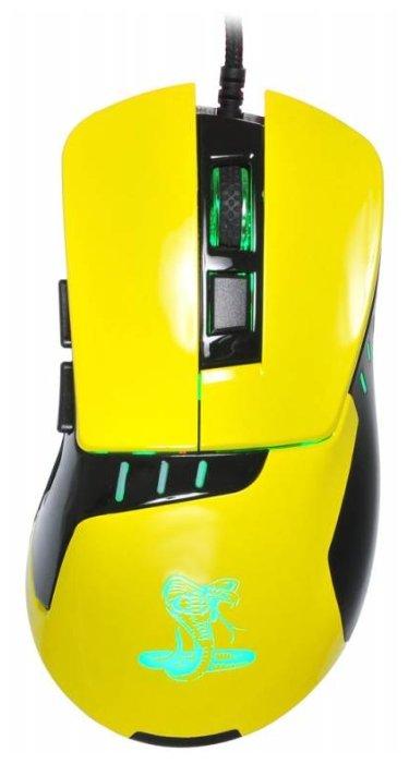 Oklick 865G SNAKE Yellow-Black USB
