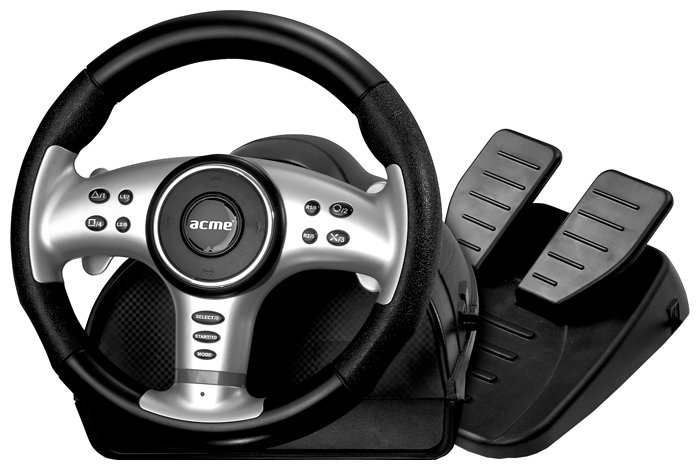 ACME Extreme Rally 2in1 PC/PS2 wheel