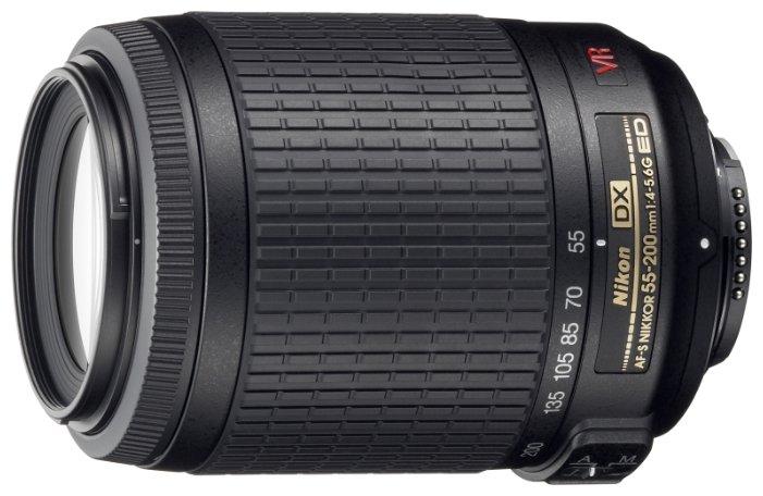 Объектив Nikon 55-200mm f/4-5.6G AF-S DX VR IF-ED Zoom-Nikkor