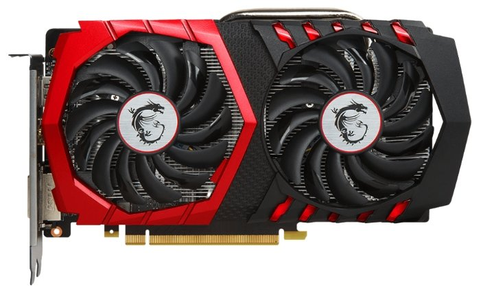 MSI GeForce GTX 1050 1442Mhz PCI-E 3.0 2048Mb 7108Mhz 128 bit DVI HDMI HDCP GAMING X