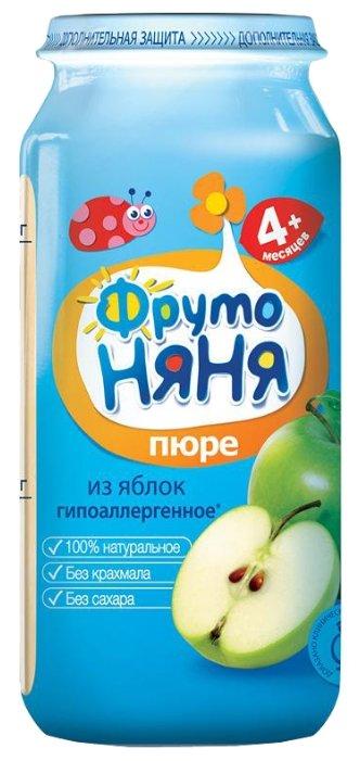 ФрутоНяня Из яблок (с 4 месяцев) стеклянная банка 250 г, 12 шт