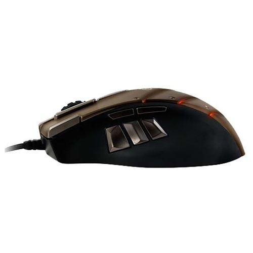 Мышь SteelSeries World of Warcraft Cataclysm Gaming Mouse Laser Brown USB