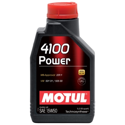Моторное масло Motul 4100 Power 15W50 1 л Моторные масла