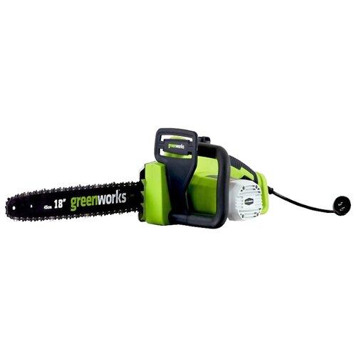 цена на Цепная электрическая пила greenworks GCS2046