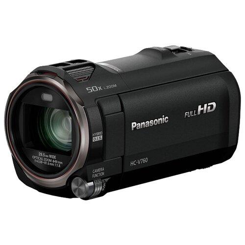 Фото - Видеокамера Panasonic HC-V760 черный видеокамера