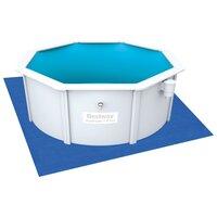 Каркасный бассейн со стальными стенками Bestway 56563 (300х120 см, насос-фильтр, аксессуары)