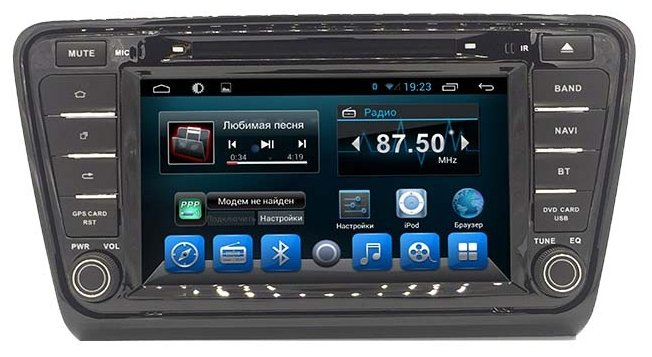 Автомагнитола Daystar DS-7180HD ANDROID