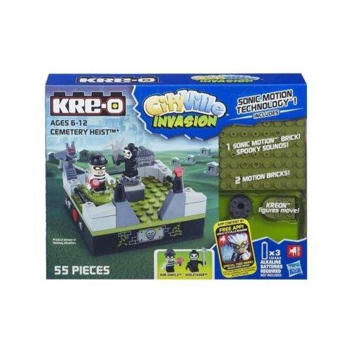 Конструктор Hasbro KRE-O CityVille A5857 Разграбление кладбища