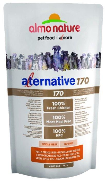 Корм для собак Almo Nature Alternative 170 Chicken and Rice XS-S
