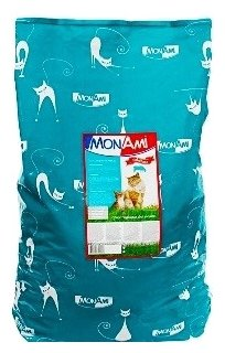 MonAmi Сухой корм для кошек Говядина (10 кг)