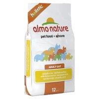 Almo Nature Holistic Adult Cat Chicken & Rice- Альмо Натуре корм сухой для кошек с курицей и коричневым рисом (12кг)