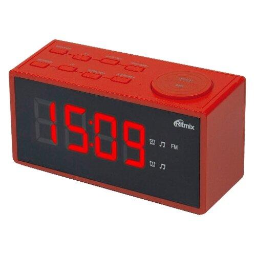 Радиобудильник Ritmix RRC-1212 red