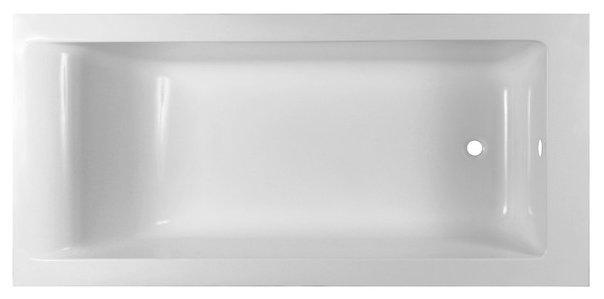 Ванна Эстет Дельта 170x80 белая иск. камень — купить по выгодной цене на Яндекс.Маркете