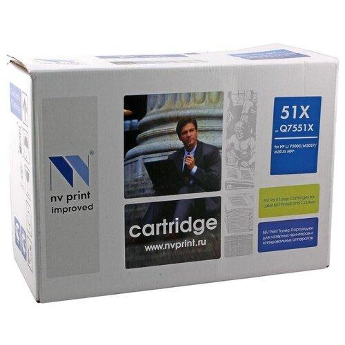 Фото - Картридж NV Print Q7551X для HP, совместимый картридж nv print q7551x для hp совместимый