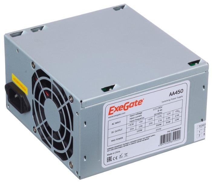 ExeGate Блок питания ExeGate AA450 450W