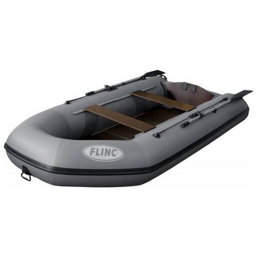 Фото - Надувная лодка Flinc FT320K серый надувная лодка flinc ft340к зеленый