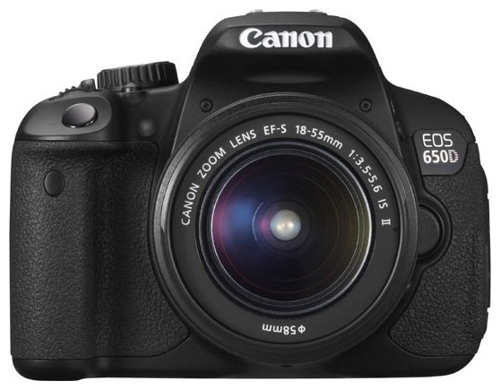 Canon Зеркальный фотоаппарат Canon EOS 650D Kit