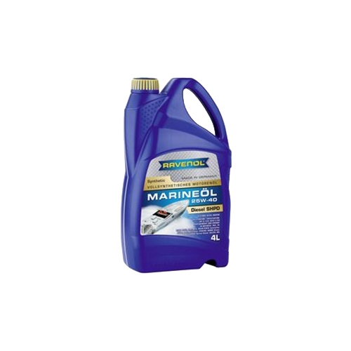 Моторное масло Ravenol Marineoil SHPD 25W40 Synthetic 4 л