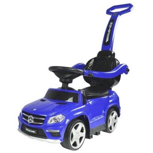 Купить Каталка-толокар RiverToys Mercedes-Benz A888AA-H со звуковыми эффектами синий, Каталки и качалки