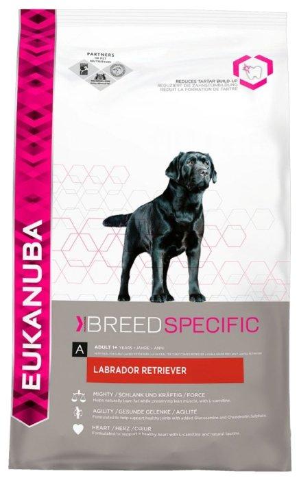 Корм для собак Eukanuba Breed Specific Лабрадор курица 12 кг